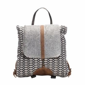 Honey Bee Print Backpack Bag