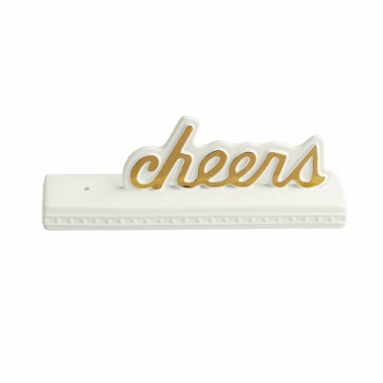 Nora Fleming Home Decor cheers sign