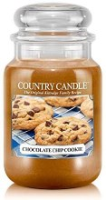 Country Candle 23oz Lg Jar: Chocolate Chip