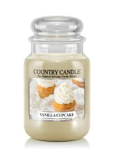 Country Candle 23oz Lg Jar: Vanilla Cupcake