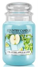 Country Candle 23oz Lg Jar: Cilantro Apple Lime