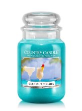 Country Candle 23oz Lg Jar: Coconut Colada