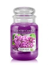 Country Candle 23oz Lg Jar: Fresh Lilac
