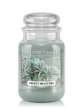 Country Candle 23oz Lg Jar: Frosty Branches