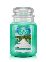 Country Candle 23oz Lg Jar: Citrus and Seagrass