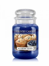Country Candle 23oz Lg Jar: Blueberry Muffin