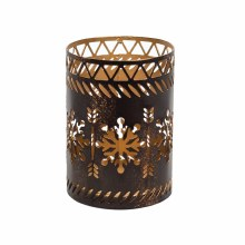 Woodwick Petite Holder Bronze Snowfl