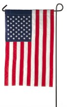 American Flag Garden Applique Flag