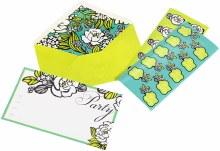 Vera Bradley fill out Island Flour invitations