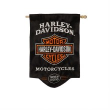 Harley Davidson Sculpted, Applique, REG, H-D American Legend