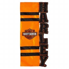 Harley Davidson Bar and Shield House Flag