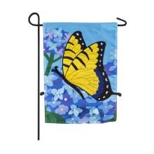Hydrangea Garden Garden Applique Flag