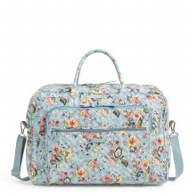 Vera Bradley Floating Garden Grand Weekender Travel Bag