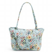 Vera Bradley Floating Garden Carson East West Tote