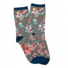 Vera Bradley Tossed Posies Crew Socks