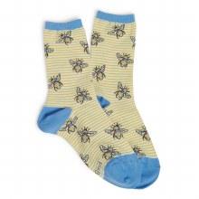Vera Bradley Bumble Bee Crew Socks