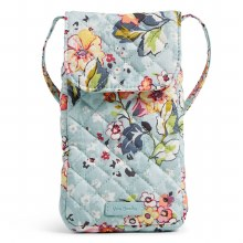 Vera Bradley Floating Garden Carson Cellphone Xbody
