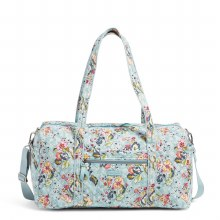 Vera Bradley Floating Garden Medium Travel Duffel