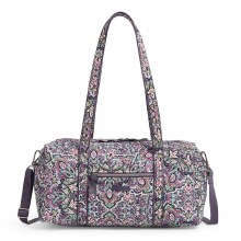 Vera Bradley Bonbon Medallion Small Travel Duffel