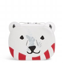 Vera Bradley Iconic Polar Bear Cosmetic