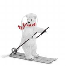 Vera Bradley Polar Bear Skiing Ornament