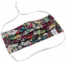Vera Bradley Pleated Mask with Adjustable Elastic Itsy Ditsy