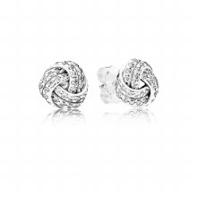 Pandora Earring Studs Sparkling Love K