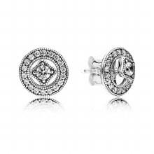 Pandora Detachable Stud Earrings Vinta