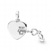 Pandora Best Friends Heart & Key
