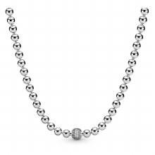 Pandora Beads & Pavé, Clear CZ