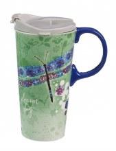 Ceramic Travel Cup, 17 oz. w/Box, Dream Big