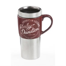Ceramic Stainless Steel Travel Cup, Heritage, H-D