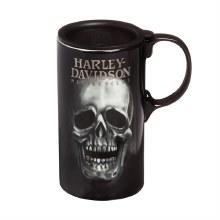 Harley Davidson Tall Boy Latte - Skull