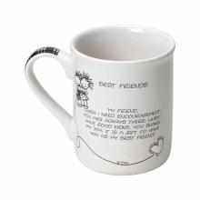 CHOIL Mug Best Friends
