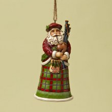 Jim Shore HWC H/O Scottish Santa
