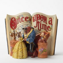 Jim Shore Disney Traditions Beauty and Beast Storybook