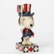 Jim Shore Patriotic Snoopy