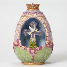 Jim Shore Figurine Victorian Egg/diora