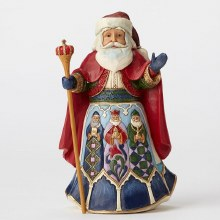 Jim Shore HWC Fig Spanish Santa