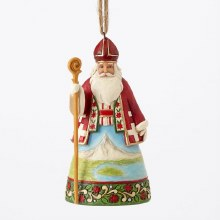 Jim Shore HWC H/O Swiss Santa