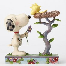 Jim Shore Snoopy with Woodstock in