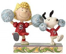 Jim Shore Peanuts Spirit Squad