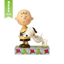 Jim Shore Snoopy with Charlie Brow