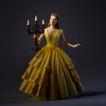 Disney Showcase Cinematic Moment Belle