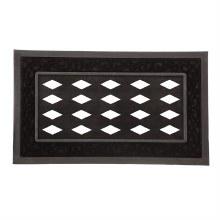 Black Scroll Sassafras Mat Tray 18x30