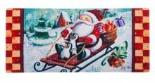 Santa Sleighs Sassafras Switch Mat