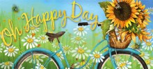 Happy Day Sunflowers Sassafras Switch Mat