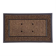 Brown Scroll Sassafras Mat Tray 18x30
