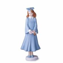 Brunette Graduate