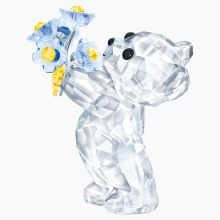 Swarovski Kris Bear - Forget-me-not